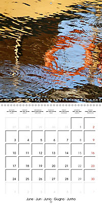 Water reflections in the harbour 2019 (Wall Calendar 2019 300 × 300 mm Square) - Produktdetailbild 6