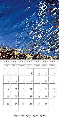 Water reflections in the harbour 2019 (Wall Calendar 2019 300 × 300 mm Square) - Produktdetailbild 8