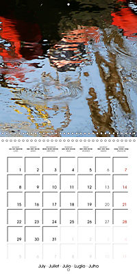 Water reflections in the harbour 2019 (Wall Calendar 2019 300 × 300 mm Square) - Produktdetailbild 7