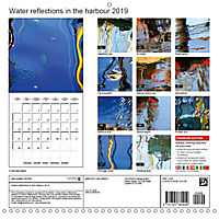 Water reflections in the harbour 2019 (Wall Calendar 2019 300 × 300 mm Square) - Produktdetailbild 13