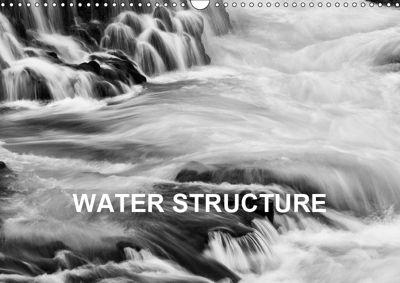Water Structure (Wall Calendar 2019 DIN A3 Landscape), Franz Josef Hering
