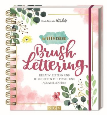 Watercolor Brushlettering - Ursula Tücks |
