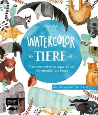 Watercolor-Tiere - Jenny Boidol pdf epub
