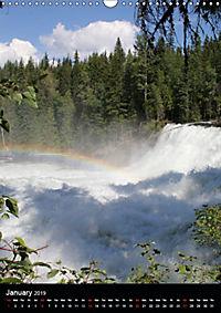 Waterfalls of North America 2019 (Wall Calendar 2019 DIN A3 Portrait) - Produktdetailbild 1