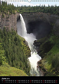 Waterfalls of North America 2019 (Wall Calendar 2019 DIN A3 Portrait) - Produktdetailbild 6