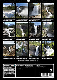 Waterfalls of North America 2019 (Wall Calendar 2019 DIN A3 Portrait) - Produktdetailbild 13