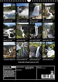 Waterfalls of North America 2019 (Wall Calendar 2019 DIN A3 Portrait) - Produktdetailbild 13