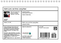 Watt'n Licht, viel Wind, wenig Meer (Tischkalender 2019 DIN A5 quer) - Produktdetailbild 13