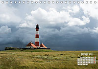 Watt'n Licht, viel Wind, wenig Meer (Tischkalender 2019 DIN A5 quer) - Produktdetailbild 1