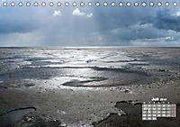 Watt'n Licht, viel Wind, wenig Meer (Tischkalender 2019 DIN A5 quer) - Produktdetailbild 7