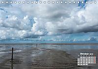 Watt'n Licht, viel Wind, wenig Meer (Tischkalender 2019 DIN A5 quer) - Produktdetailbild 10