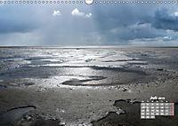 Watt'n Licht, viel Wind, wenig Meer (Wandkalender 2019 DIN A3 quer) - Produktdetailbild 7