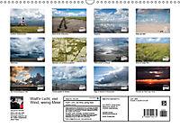 Watt'n Licht, viel Wind, wenig Meer (Wandkalender 2019 DIN A3 quer) - Produktdetailbild 13