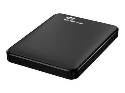 WD Elements 750GB HDD USB3.0 Portable 6,4cm 2,5Zoll RTL extern RoHS compliant black