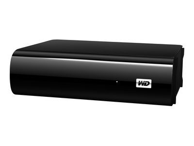 WD My Book AV-TV 1TB HDD for TV-recording 24x7 reliability USB3.0/2.0 incl 2m USB3.0 cable