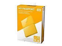 WD My Passport 1TB Gelb portable HDD external USB3.0 6,4cm 2,5Zoll Retail - Produktdetailbild 11