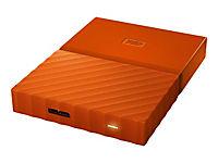 WD My Passport 1TB Orange portable HDD external USB3.0 6,4cm 2,5Zoll Retail - Produktdetailbild 5