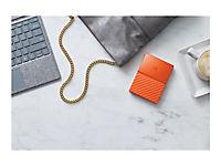 WD My Passport 1TB Orange portable HDD external USB3.0 6,4cm 2,5Zoll Retail - Produktdetailbild 7