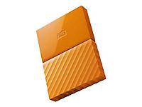 WD My Passport 1TB Orange portable HDD external USB3.0 6,4cm 2,5Zoll Retail - Produktdetailbild 3