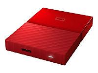 WD My Passport 1TB Rot portable HDD external USB3.0 6,4cm 2,5Zoll Retail - Produktdetailbild 7