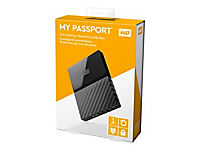 WD My Passport 1TB Schwarz portable HDD external USB3.0 6,4cm 2,5Zoll Retail - Produktdetailbild 10