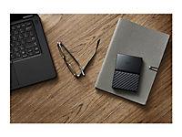WD My Passport 1TB Schwarz portable HDD external USB3.0 6,4cm 2,5Zoll Retail - Produktdetailbild 11