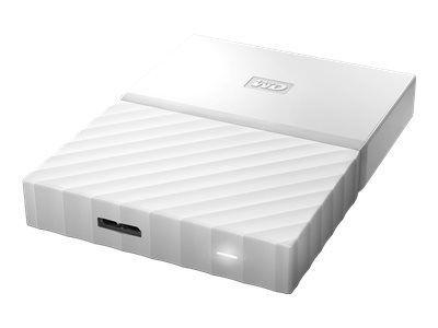WD My Passport 1TB Weiss portable HDD external USB3.0 6,4cm 2,5Zoll Retail