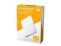 WD My Passport 1TB Weiss portable HDD external USB3.0 6,4cm 2,5Zoll Retail - Produktdetailbild 4