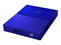 WD My Passport 3TB Blau portable HDD external USB3.0 6,4cm 2,5Zoll Retail - Produktdetailbild 9