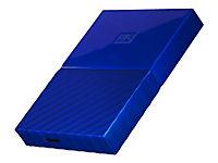 WD My Passport 3TB Blau portable HDD external USB3.0 6,4cm 2,5Zoll Retail - Produktdetailbild 6