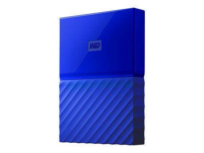 WD My Passport 3TB Blau portable HDD external USB3.0 6,4cm 2,5Zoll Retail