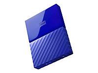 WD My Passport 3TB Blau portable HDD external USB3.0 6,4cm 2,5Zoll Retail - Produktdetailbild 1