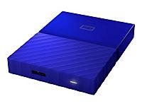 WD My Passport 3TB Blau portable HDD external USB3.0 6,4cm 2,5Zoll Retail - Produktdetailbild 5