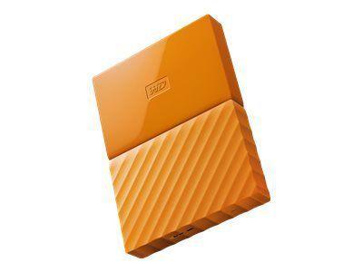 WD My Passport 3TB Orange portable HDD external USB3.0 6,4cm 2,5Zoll Retail