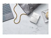 WD My Passport 3TB Weiss portable HDD external USB3.0 6,4cm 2,5Zoll Retail - Produktdetailbild 5
