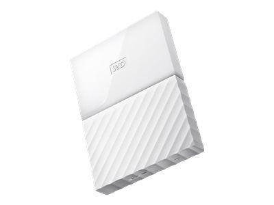 WD My Passport 3TB Weiss portable HDD external USB3.0 6,4cm 2,5Zoll Retail