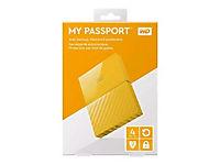 WD My Passport 4TB Gelb portable HDD external USB3.0 6,4cm 2,5Zoll Retail - Produktdetailbild 2
