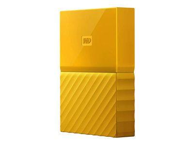 WD My Passport 4TB Gelb portable HDD external USB3.0 6,4cm 2,5Zoll Retail