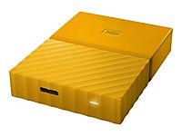 WD My Passport 4TB Gelb portable HDD external USB3.0 6,4cm 2,5Zoll Retail - Produktdetailbild 7