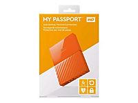 WD My Passport 4TB Orange portable HDD external USB3.0 6,4cm 2,5Zoll Retail - Produktdetailbild 6