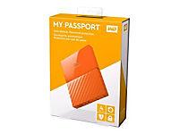 WD My Passport 4TB Orange portable HDD external USB3.0 6,4cm 2,5Zoll Retail - Produktdetailbild 8