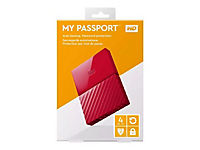 WD My Passport 4TB Rot portable HDD external USB3.0 6,4cm 2,5Zoll Retail - Produktdetailbild 4
