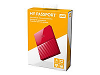 WD My Passport 4TB Rot portable HDD external USB3.0 6,4cm 2,5Zoll Retail - Produktdetailbild 8