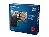 WD MY Passport AV-TV 1TB TV Storage 6,8cm 2,5Zoll inkl Mounting Kit RETAIL - Produktdetailbild 1