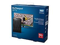 WD MY Passport AV-TV 500GB TV Storage 6,8cm 2,5Zoll inkl Mounting Kit RETAIL - Produktdetailbild 5