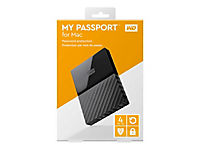 WD My Passport for MAC 4TB 6,4cm 2,5Zoll USB3.0 USB-C Ready incl Cable Retail - Produktdetailbild 3