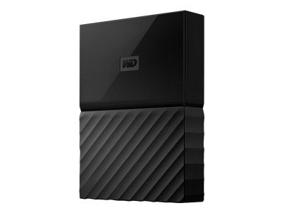 WD My Passport Gaming Storage 2TB works with Playstation 4 USB3.0 6,4cm 3,5Zoll External HDD Retail Black