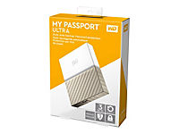 WD My Passport Ultra 3TB White-Gold USB3.0/2.0 HDD 6,4cm 2,5Zoll Metal finish RTL portable extern - Produktdetailbild 8