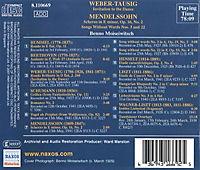 Weber-Tausig/Mendelssohn/Liszt - Produktdetailbild 1