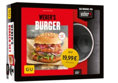 Weber's Burger-Set, m. Hamburgerpresse, Jamie Purviance